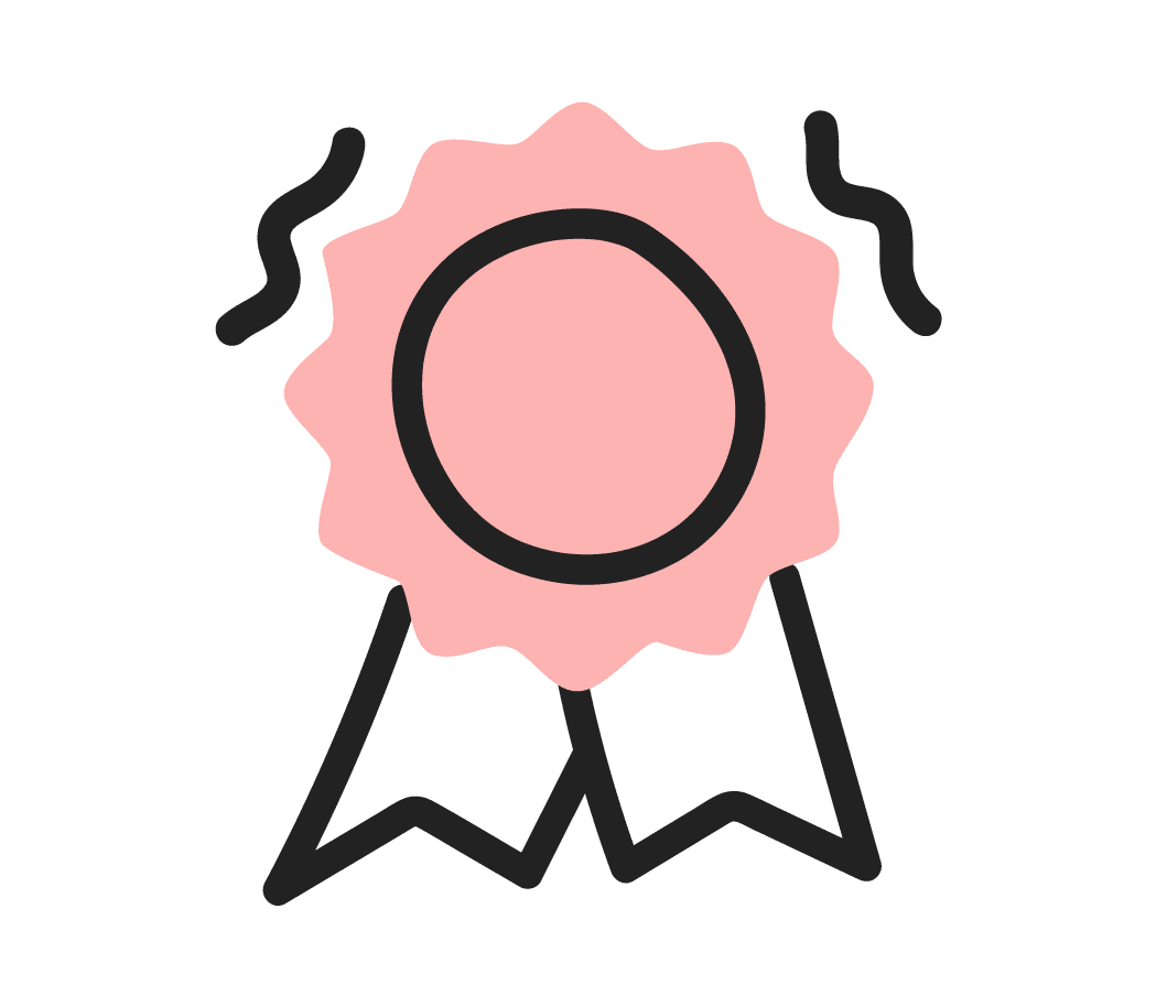 Products and services Endorsement, 1st badge icon