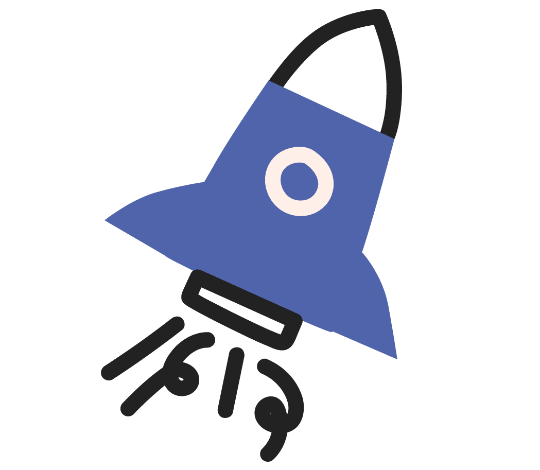 Products and services Maximiser, rocket icon
