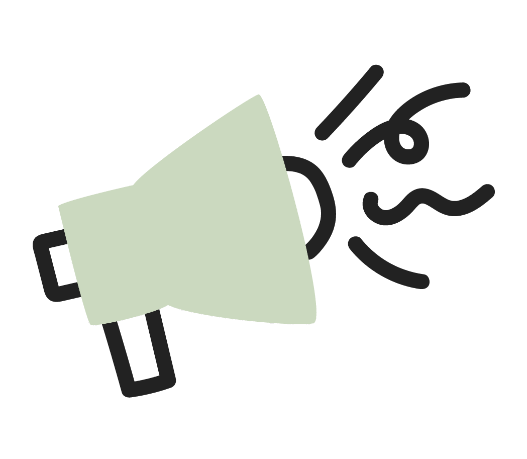 Products and services Promoter, megaphone icon
