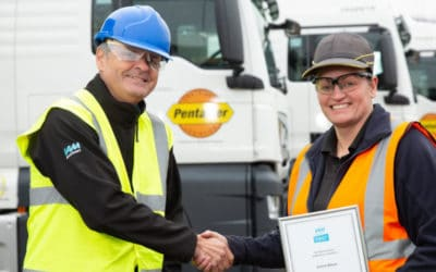 Women changing the road haulage Industry with Pentalver