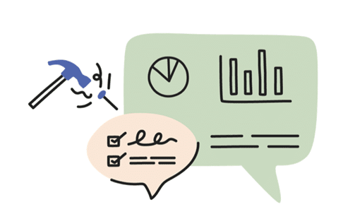 Icon showing employer resource illustrations